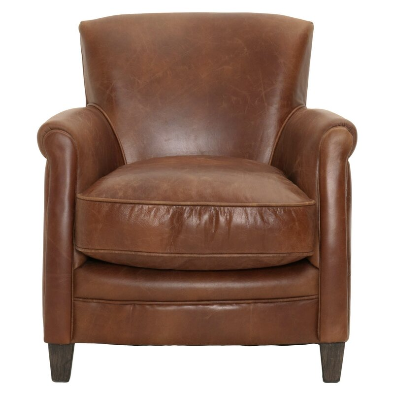 Fonteyne Club Chair #leatherchair #clubchair #Paris
