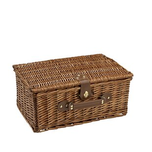 Picnic Basket by Alcott Hill Cheap