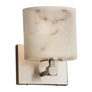 Inexpensive Keyon 1-Light LED Armed Sconce By Brayden Studio