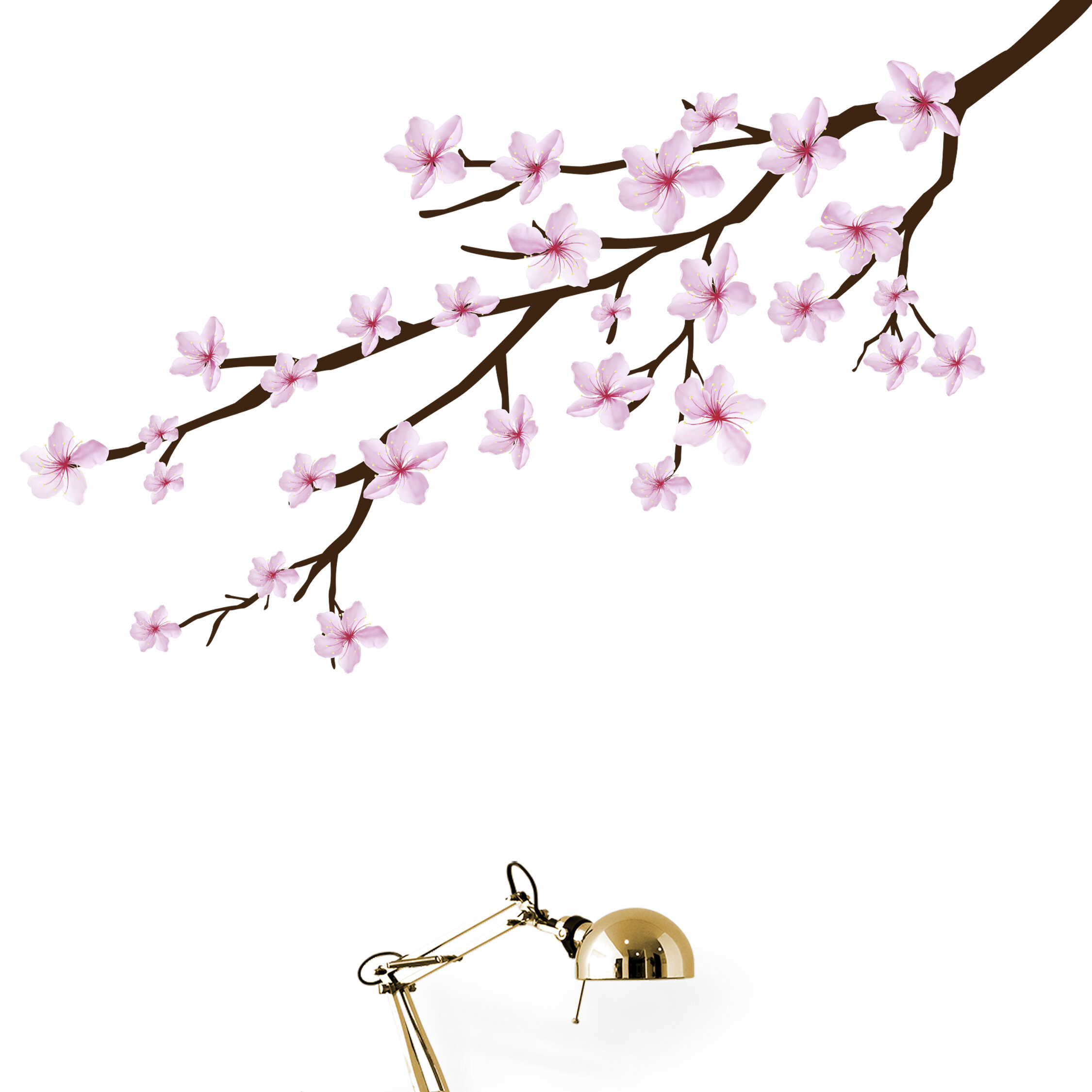 Bloomsbury Market Cherry Blossom Branch Wall Decal Wayfair