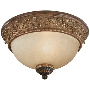 Fleur De Lis Living Winnie 1-Light Flush Mount