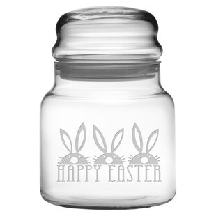 Easter Bunnies 0.69 qt. Apothecary Jar