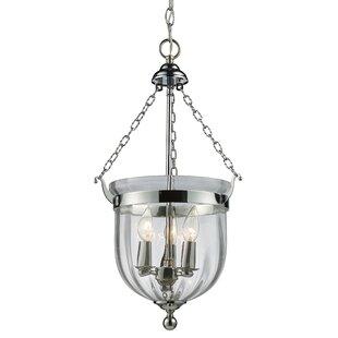 Hegg 3-Light Urn Pendant by Alcott Hill