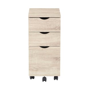 Lois 3 Drawer Mobile Filling Cabinet