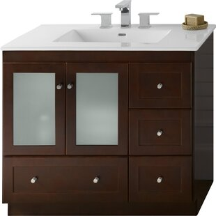 Shaker 36 Single Bathroom Vanity Base Only by Ronbow