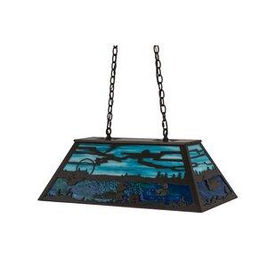 Meyda Tiffany Loon 6-Light Pool Table Lights Pendant