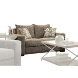 Derwin 65 Square Arm Loveseat by Darby Home Co