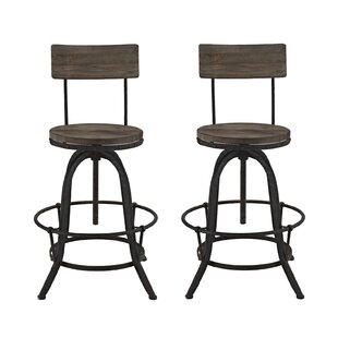 Procure Adjustable Height Swivel Bar Stool (Set of 2) Modway