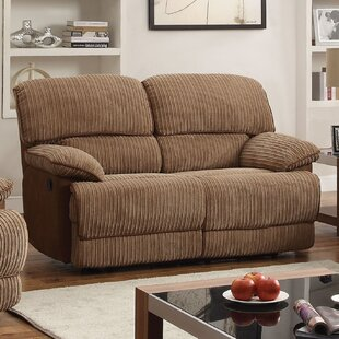 Majewski Motion Reclining Loveseat Red Barrel Studio