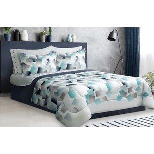 Burl Mosaic Reversible Comforter Set