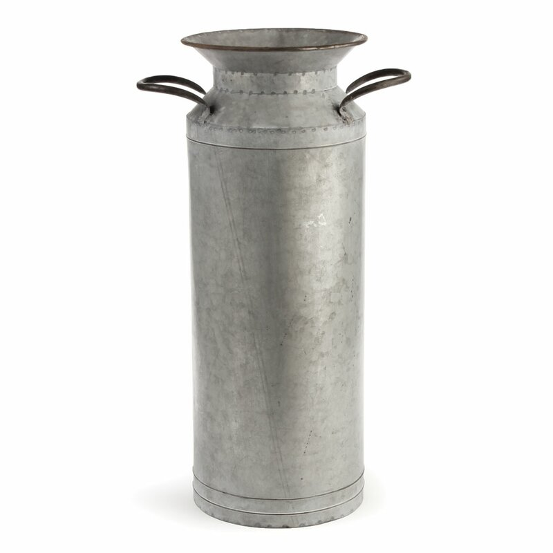Steed Vintage Zinc Pot Planter #zinc #vase #planter