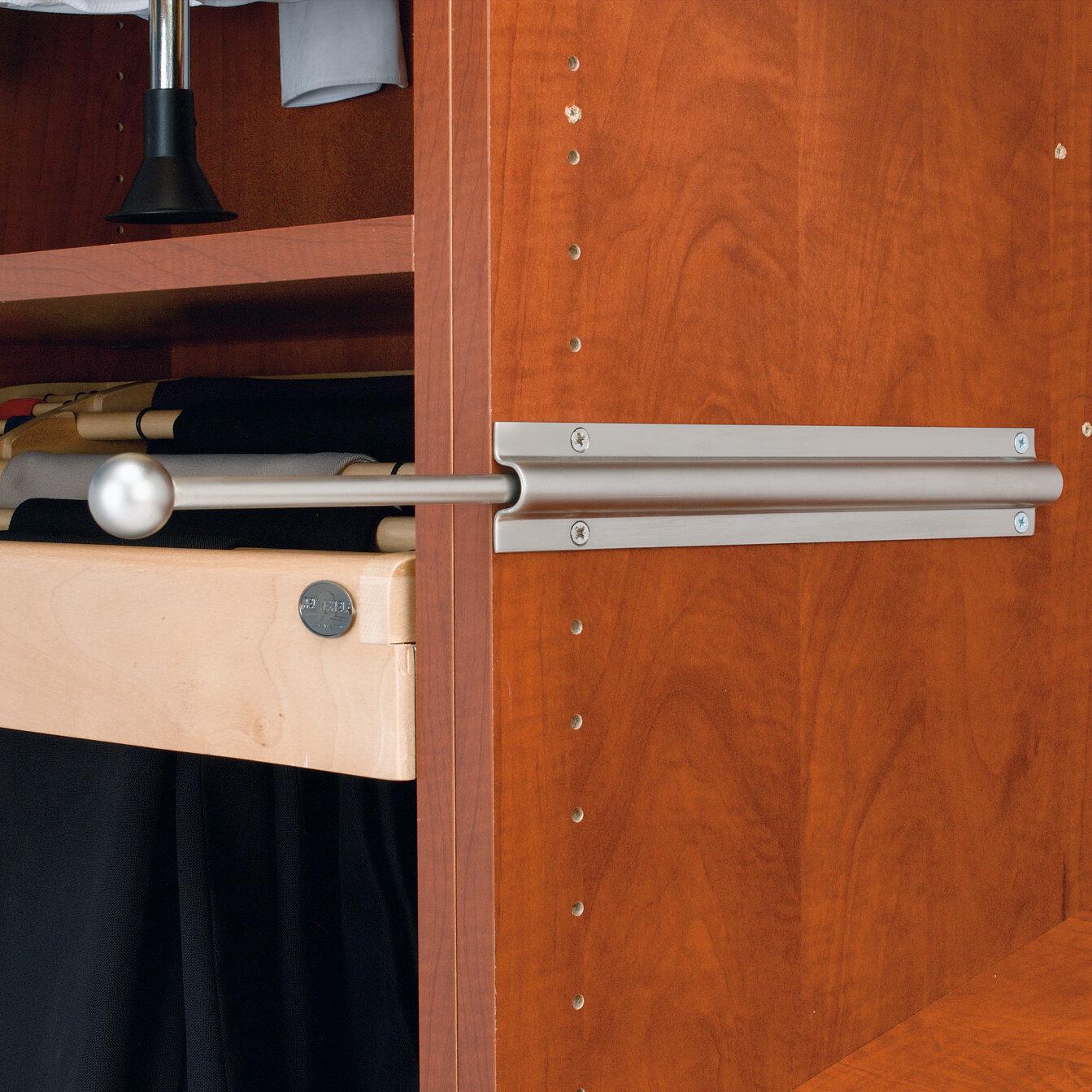 Rev A Shelf Pull Out Standard Valet Rod & Reviews | Wayfair
