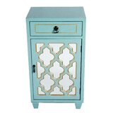 Rodas 1 Door Accent Cabinet by World Menagerie