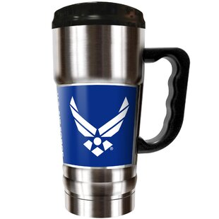 US Armed Forces 20 oz. Stainless Steel Travel Tumbler