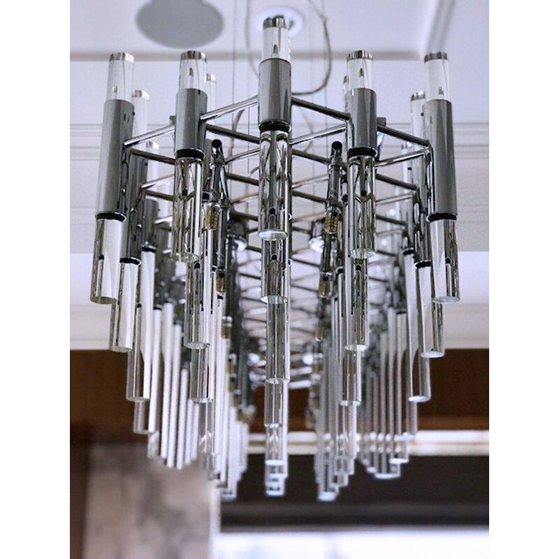 Everly Quinn Galvan 16-Light Sputnik Chandelier