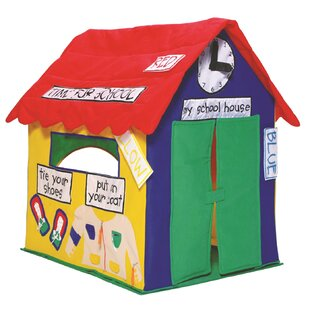 Reviews Kids Cottage Learning 2.5' x 3.17' Playhouse By Bazoongi Kids