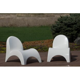 Oakland Patio Chair (Set of 2) by Orren Ellis