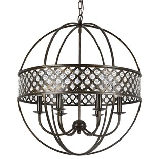 House of Hampton Catchings 6-Light Globe Chandelier