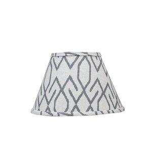 Broken Diamonds 16 Linen Empire Lamp Shade