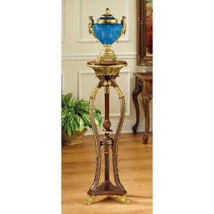Great Price Floral Bouquet Pedestal Plant Stand ByDesign Toscano