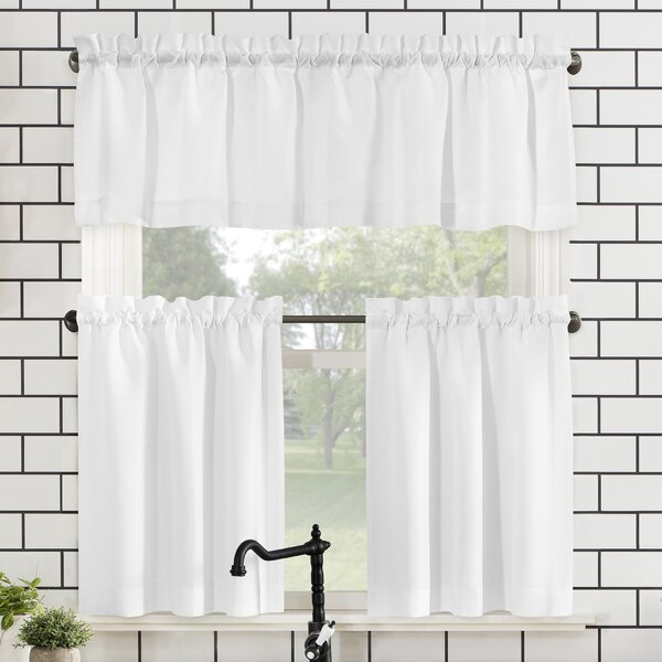 Coral Kitchen Curtains Wayfair