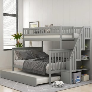 Oppel Twin over Full Bunk Bed with Trundle