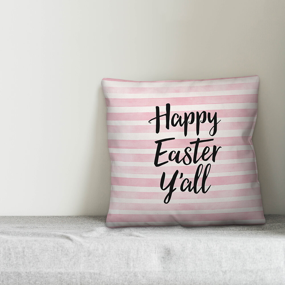 Easter Pink Throw Pillows You Ll Love In 2021 Wayfair