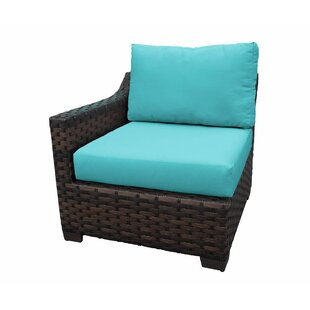 Wilde Patio Chair with Cushions by Alcott Hill