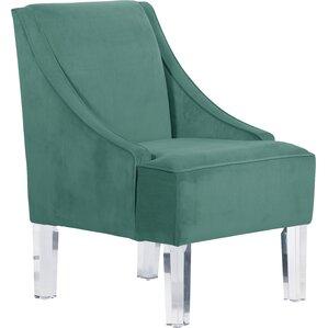 Vale Velvet Side Chair by Skyline Furniture