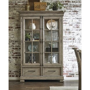 Devers Lighted China Cabinet