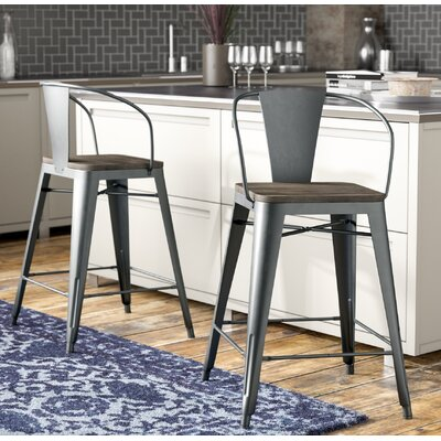 Tremendous Trent Austin Design Reedley 255 Inch Bar Stool Color Gray Creativecarmelina Interior Chair Design Creativecarmelinacom