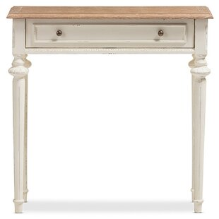 Clarington Distressed Wood Console Table