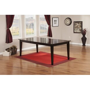 Hobert Extendable Solid Wood Dining Table