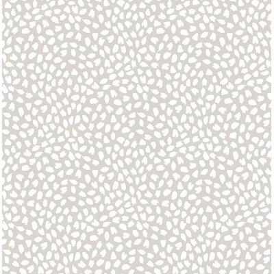 Latitude Run Heloise Confetti 32.81' L x 20.5 W Wallpaper Roll Color: Warm Neutral
