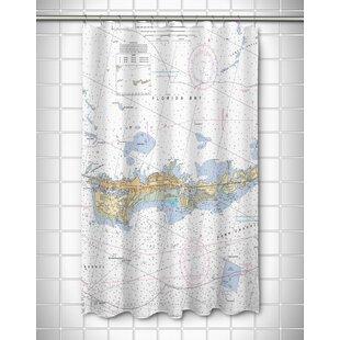 Price comparison Ellisburg Vaca Key Marathon, FL Shower Curtain ByLongshore Tides