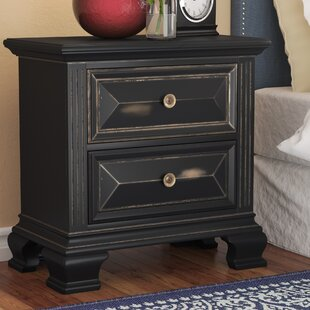 Ashkum 2 Drawer Nightstand