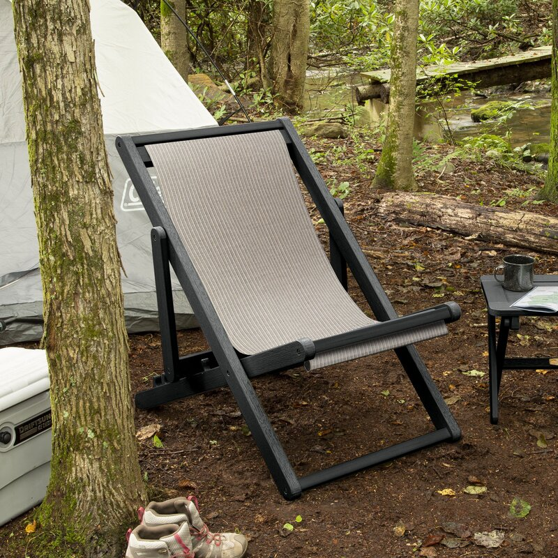 ELK OUTDOORS Arabella Reclining/Folding Deck Chair