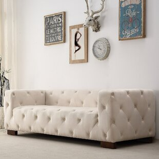 Ossett Tufted Elegant Chesterfield Sofa Mercer41