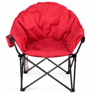 Cheshire Oversized Moon Folding Camping Chair by Freeport Park