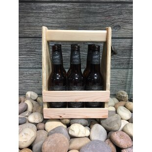 Wood 6 Pack Beer Carrier