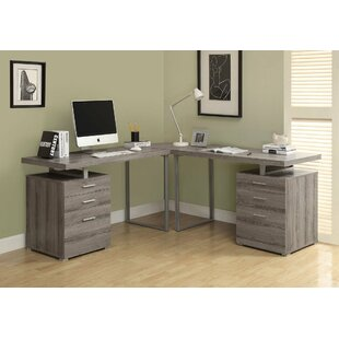 Look for Schmidtke L-Shape Corner Desk By Latitude Run
