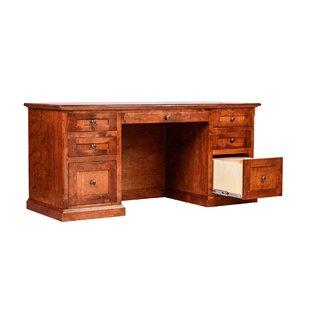 Forest Designs Mission Knob Executive Desk