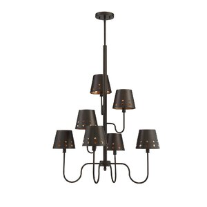 Taasi 7-Light Shaded Chandelier