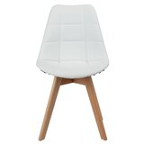 Neff Upholstered Side Chair in White (Set of 2) by Corrigan Studio®