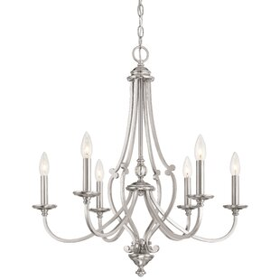 Darby Home Co Audane 6-Light Chandelier
