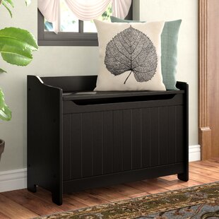 Winston Porter Cora Wood Storage Bench