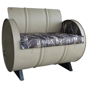 Dead Right There True Timber Camo Armchair by Drum Works Furniture