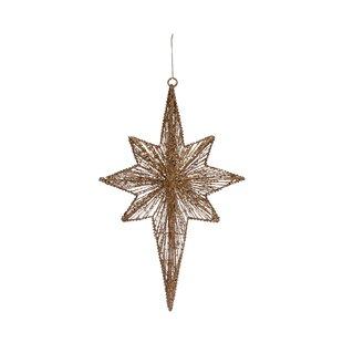 Metal Star Christmas Ornaments You Ll Love In 2021 Wayfair