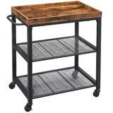 Carnkirk Kitchen Cart by 17 Stories