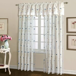 Parkes Rod Pocket Single Curtain Panel